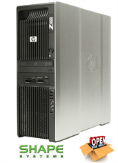 HP Z600 Quad Core E5 3GB 250GB Win7Pro WorkStation PC KK689ET (£650 ExVat)